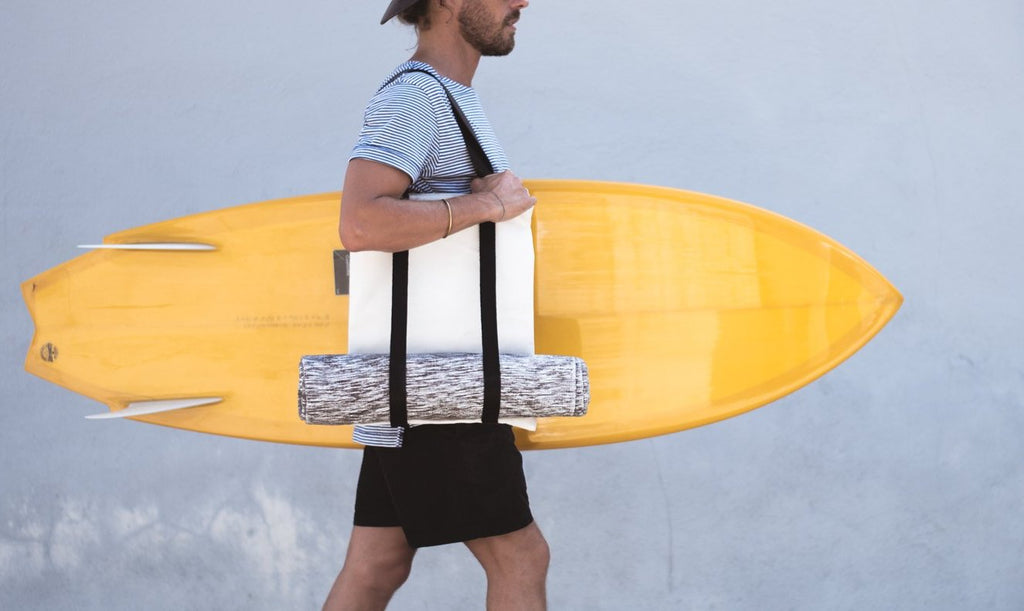 Saltfish Surf Co. x ColdSmoke Tote Bag