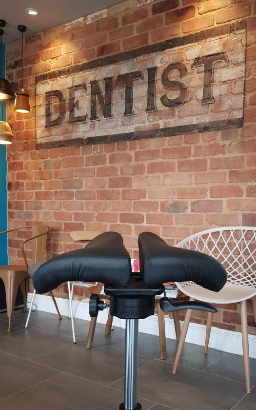 saddle chair dental practice