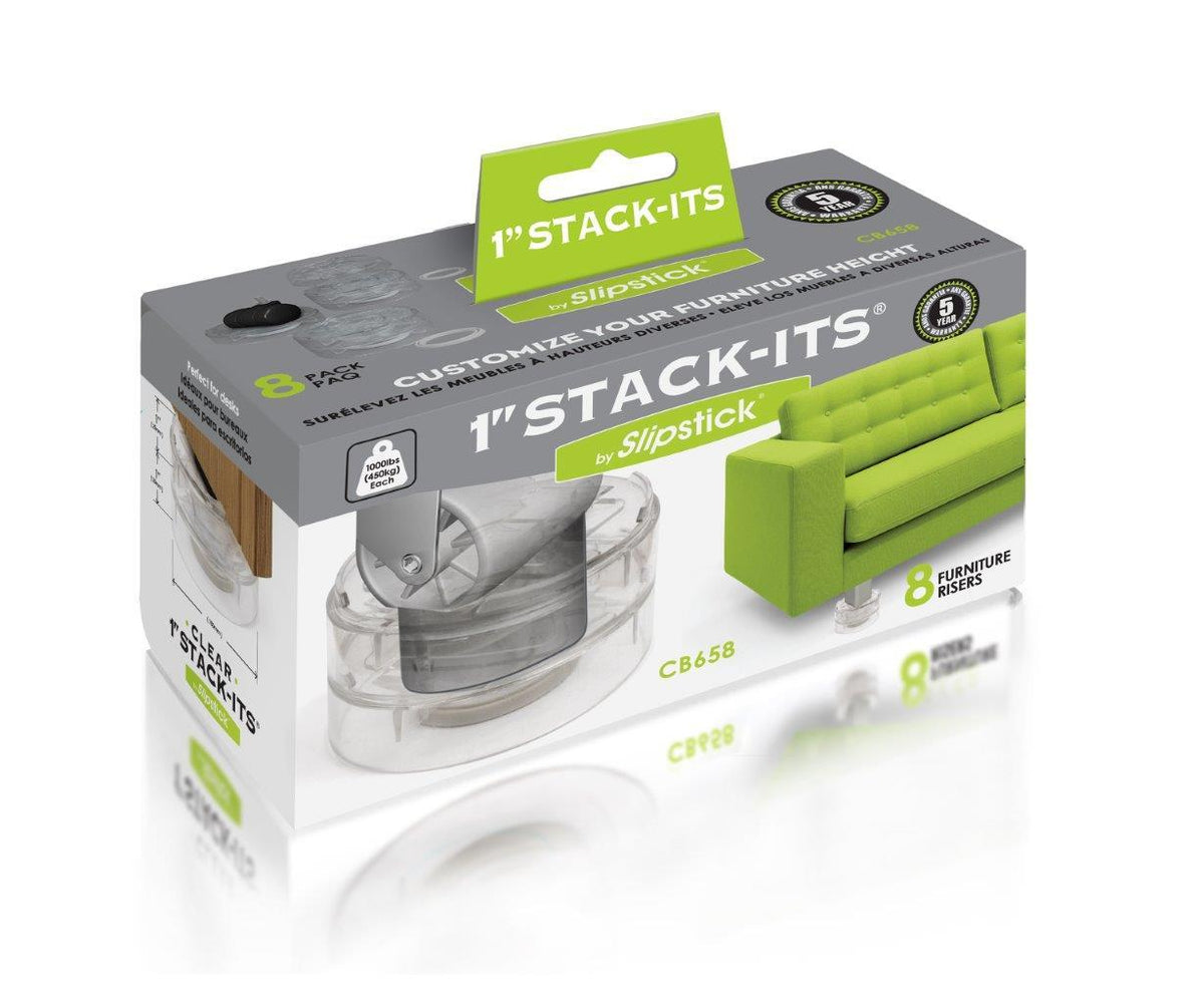 "Stack-Its 1"" Furniture Risers - 8 per pack"