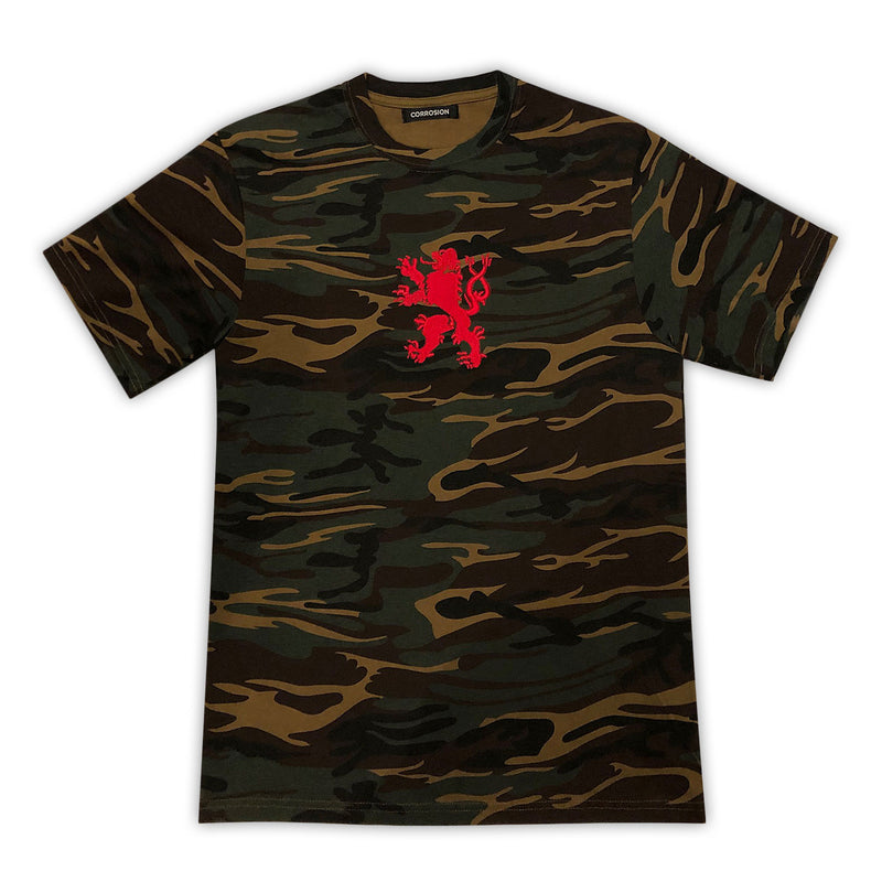 corrosion camo griffin t-shirt