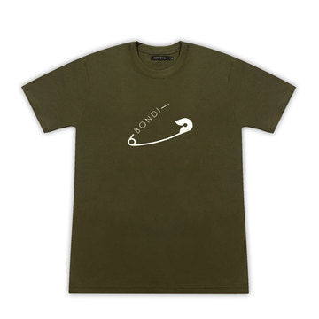 bondi safety pin t-shirt
