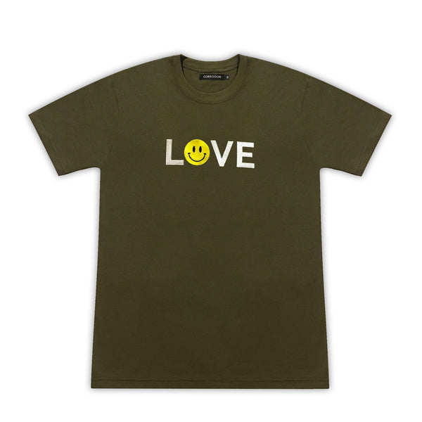 love smiley t-shirt