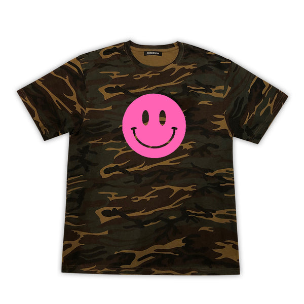 smile high club camo t-shirt
