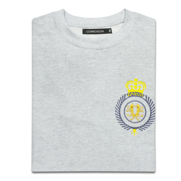 "Corrosion Apparel ""royal sweat"" in Grey Marle"
