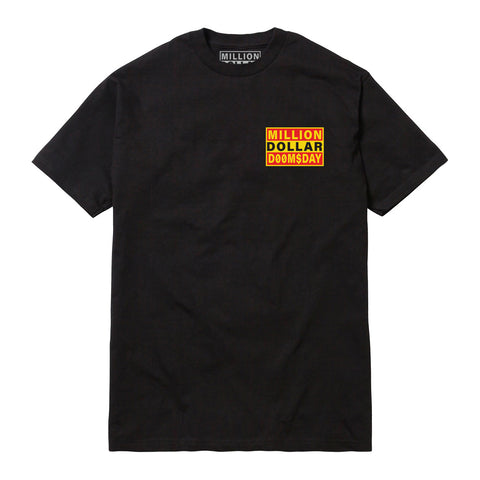 LOGO T-SHIRT: BLACK