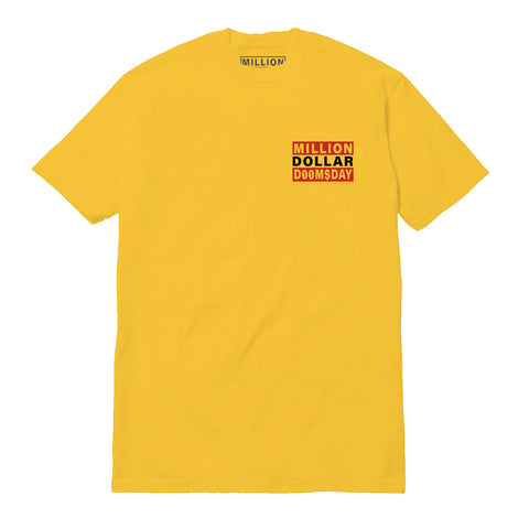 LOGO T-SHIRT: GOLD