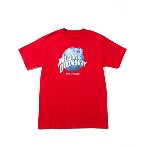 Planet Doomsday T-Shirt: Red