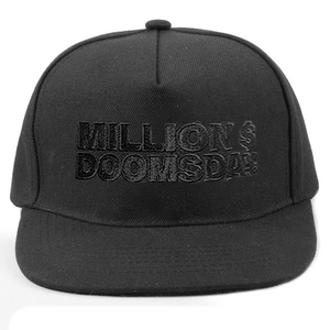 MILLION $ HAT: BLACK