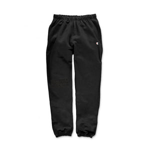 MILLION $ SWEAT PANTS: BLACK
