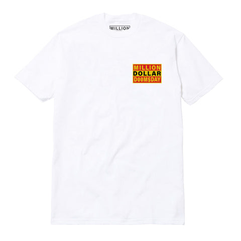 LOGO T-SHIRT: WHITE