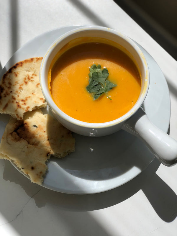 Ina's Butternut Squash and Apple Soup