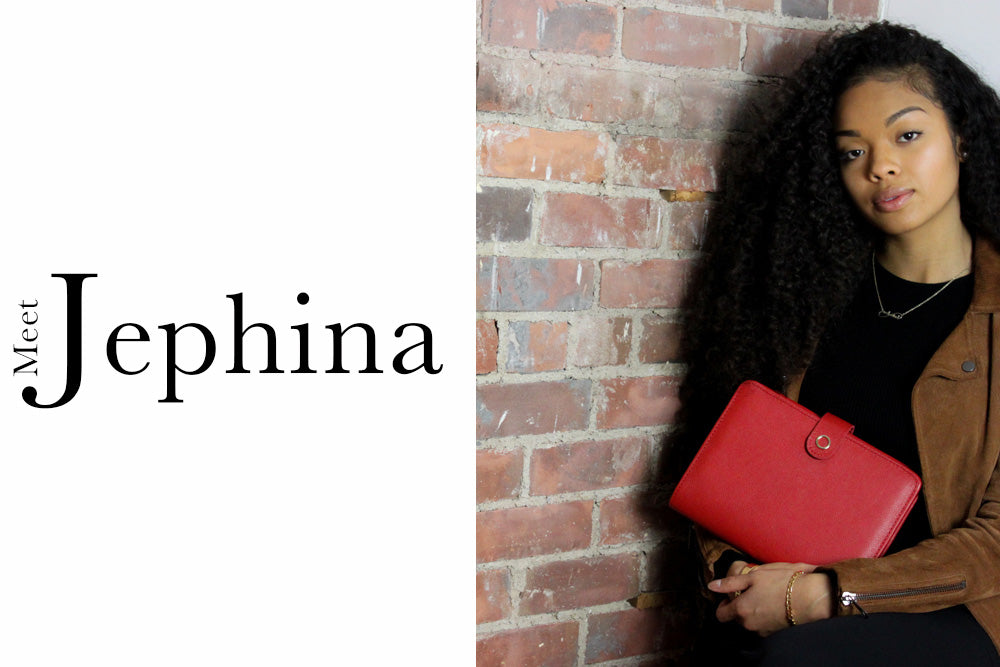 the a.f series interview meet jephina cover