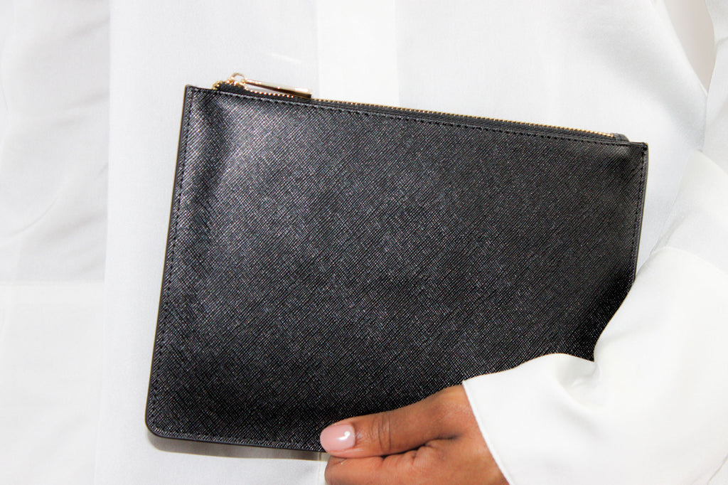 Leather Pouch- smooth front