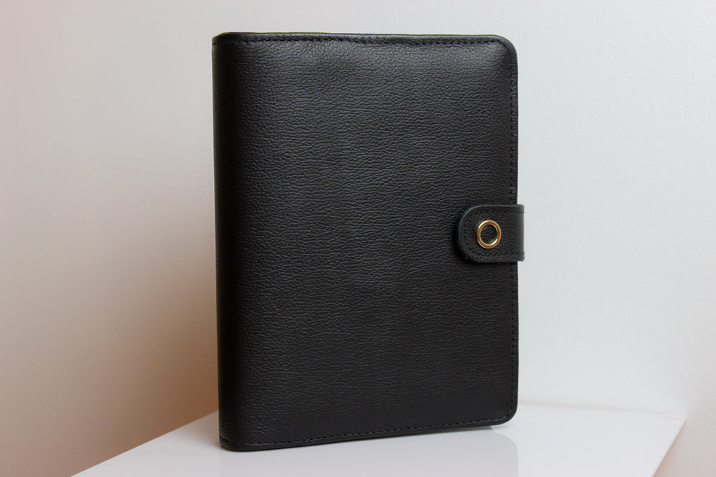 j.pearson a5 leather planner