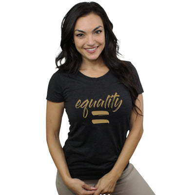 Equality Tee - Ladies Form-Fitting Tee