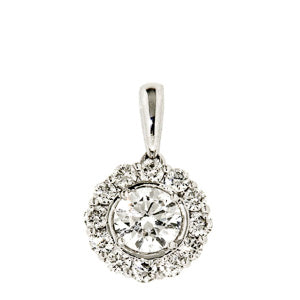 1.00ct Petals Diamond Pendant