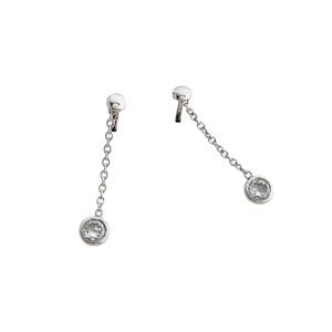 Fancy Silver Drop Earrings