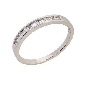 9kt WG Baguette Diamond Eternity Ring 0.20ct