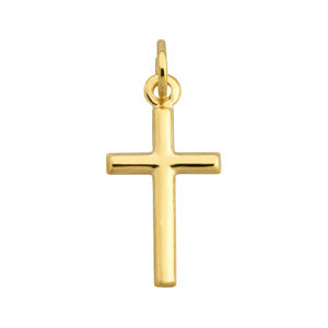 9kt Yellow Gold Small Cross Pendant