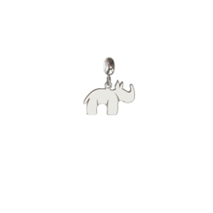 Memi Nature Rhinoceros Charm