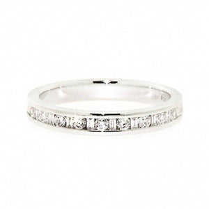 0.25ct For Life Half Eternity Band
