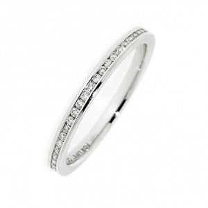 0.14ct For Life Full Eternity Enhancer Band