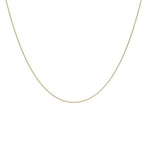 50cm 9kt yellow gold snake chain