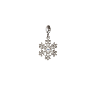 Memi Beauty and Passion Snowflake Charm