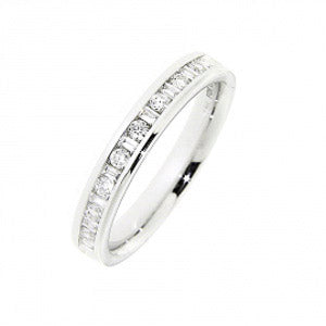 0.33ct For Life Half Eternity Band