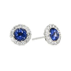 1.06ct Petals Tanzanite Earrings