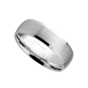 9KT White Gold Wedding Band