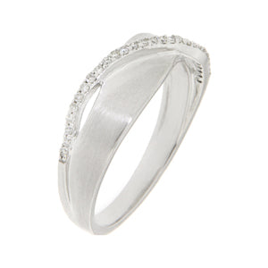 White Gold Fancy Dress Ring