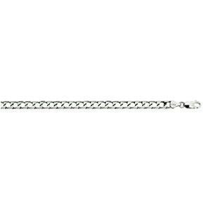 Silver Square Curb 200 Chain 5.8mm