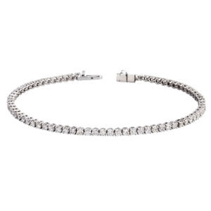 5.0ct 18kt Tennis Bracelet Mount