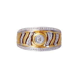 9kt Yellow Gold Dress Ring