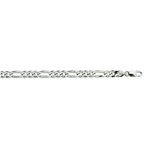 Silver Figaro 3+1 180 Chain 8.3mm