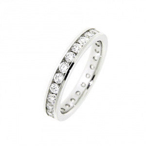 1.00ct For Life Full Eternity Band