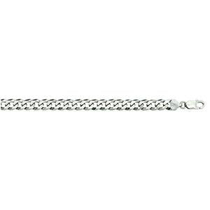 Silver Curb 200 Chain 9mm