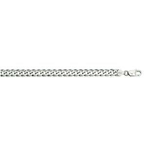 Silver Curb 150 Chain 6.9mm