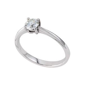 0.15ct Solitaire Engagement Ring