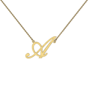 Memi Personalised Initial Necklace