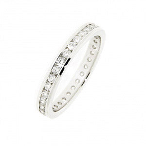 0.75ct For Life Full Eternity Band