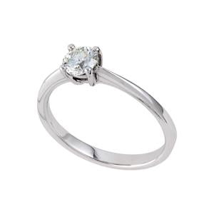 0.20ct Diamond Solitaire Engagement Ring