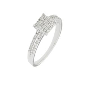 Diamond Split Shank Dress Ring