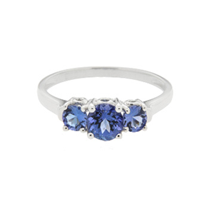 9kt White Gold Tanzanite Ring