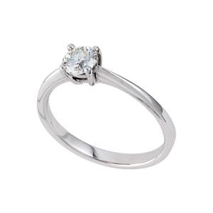 0.25ct Diamond Solitaire Engagement Ring