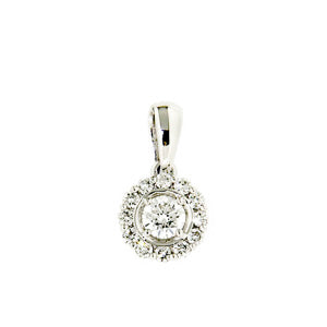 0.32ct Petals Diamond Pendant