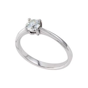 0.30ct Diamond Solitaire Engagement Ring