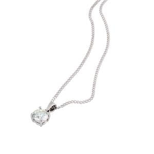 0.30ct Diamond Solitaire Pendant