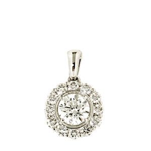 0.75ct Petals Diamond Pendant